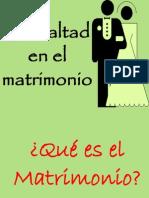 La Lealtad en El Matrimonio