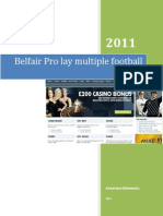 Belfair Pro Lay Multiple Football Secret
