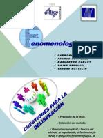 La fenomenología Final