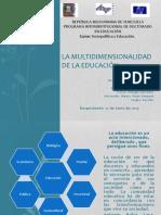 La multidimensionalidad de la Educación
