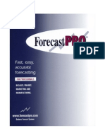 Forecast Pro Unlimited V6 User's Guide
