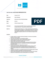 Method - Inside Sales Representative