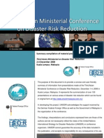 Third Asian Ministerial Conference on DRR, Dec 09 Summary of Presentations