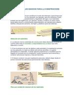 Materiales Basicos Para La Construccion