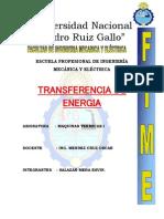 Transferencia de La Energia