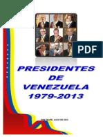 PRESIDENTES DE VENEZUELA 1979 AL 2013.docx