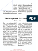 William Ash - Philosophical Revisionism