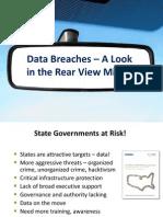 Data Breaches Rear View Mirror - Doug Robinson