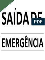 Saida Emerg