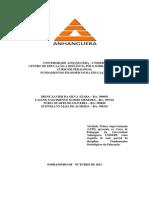 ATPS DE SOCIOLOGIA 2013 - Cópia