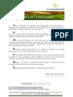 Carta de Compromiso Personal Para El Liderazgo
