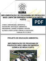 Projeto de Educação Ambiental TFL do Brasil G2