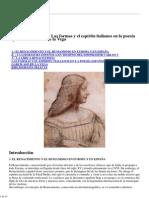 La lírica renacentista