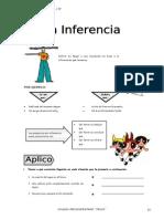 IV Bim - R.V. - 3er. año - Guía 6 - La inferencia