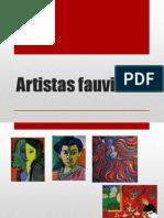 Artistas fauvistas