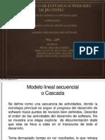 PRESENTACION Modelos de Proceso de Software