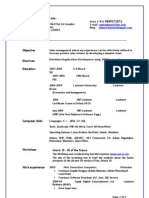Salman's Resume