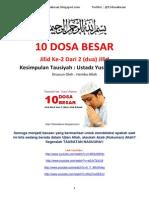10DosaBesar [kumpulan tausyiah ust. yusuf mansyur]
