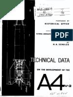 NASA History - V2 - A4 Rocket Technical Development Data 1965