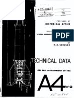 NASA History - V2 - A4 Rocket Technical Development Data 1965