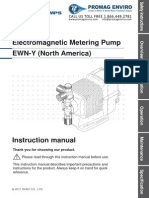Walchem Pump EWN-Y Series Manual