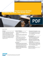 SAP Workforce Performance Builder Building the Skills That Build Value