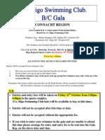B and C Gala Entry Info and Forms for Sligo