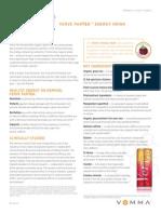 VEMMA/VERVE ParTEA Fact Sheet