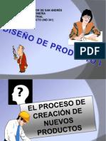 DISEÑO DEL PRODUCTO 1