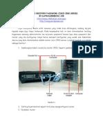 Simulasi Recovery Password Cisco 2500 Series