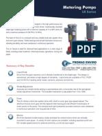 Walchem Pump LKN Series Brochure