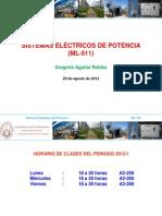 Clase N° 01 - ML 511 - 29-08-2012