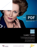 The Iron Lady Film and Focus Leaders Guide o