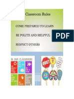 intro to teaching - class rules