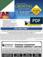 Shriram Transport Fin Co. NCD Issue JUL 13