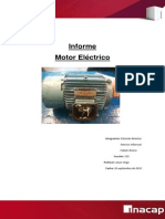 Informe de Motor Electrico Taller Listo