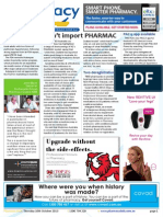 Pharmacy Daily for Thu 10 Oct 2013 - Don\'t import PHARMAC - MA, ANPHA feedback sought, New AusPARS, Two deregistrations and much more