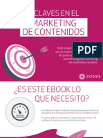 Cinco Claves en Elmarketing Contenidos 20130920