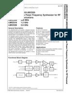 Data Sheet Lm 2306 x