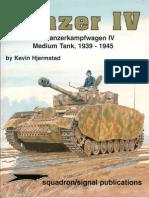 155459586 Squadron Signal 6081 Panzer IV the Panzerkampfwagen IV Medium Tank 1939 1945