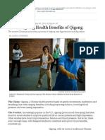 WSJ Qigong Article