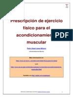 Acondicionamiento Muscular Para La Salud