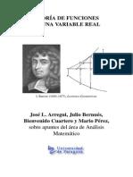 Teoria de Funciones de Una Variable Real (J.L. Arregui Et Al.)