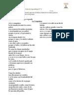 Ficha 2 El Poema