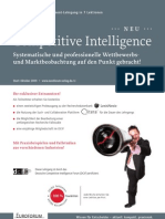 Lehrgang Competitive Intelligence