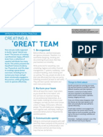 Creating a Great Dental Team