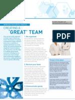 Creating a Great Dental Team