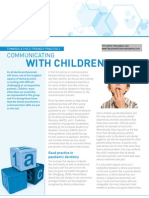 Towards a Child-friendly Dental Practice I