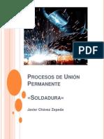 Procesos de Union Permanente, Soldadura