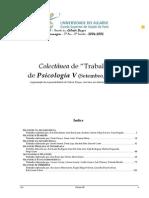 Colectânea de Trabalhos, no âmbito da disciplina de Psicologia V (Psicologia da Gravidez e Maternidade/Paternidade) -A 3 (alunos 5ºCLE)